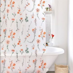 Georgina Floral PEVA Shower Curtain Sold Out